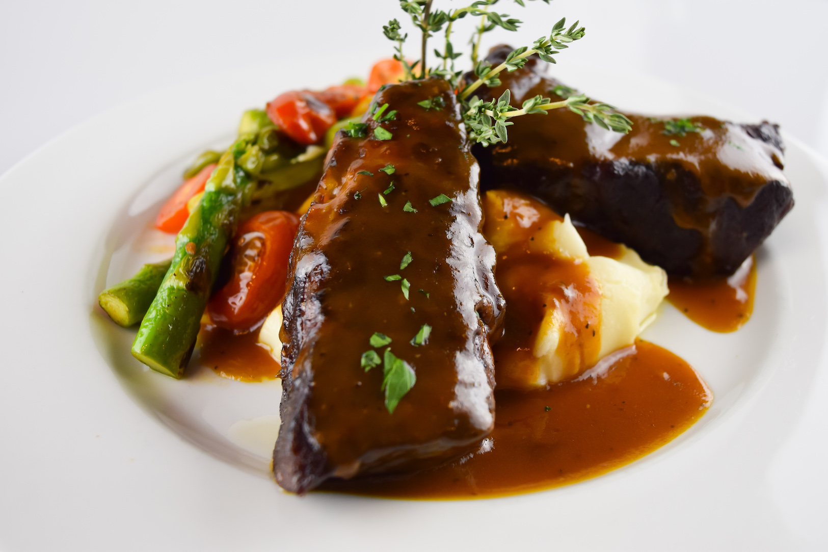 Bourbon Braised Beef Short Rib Indulgence
